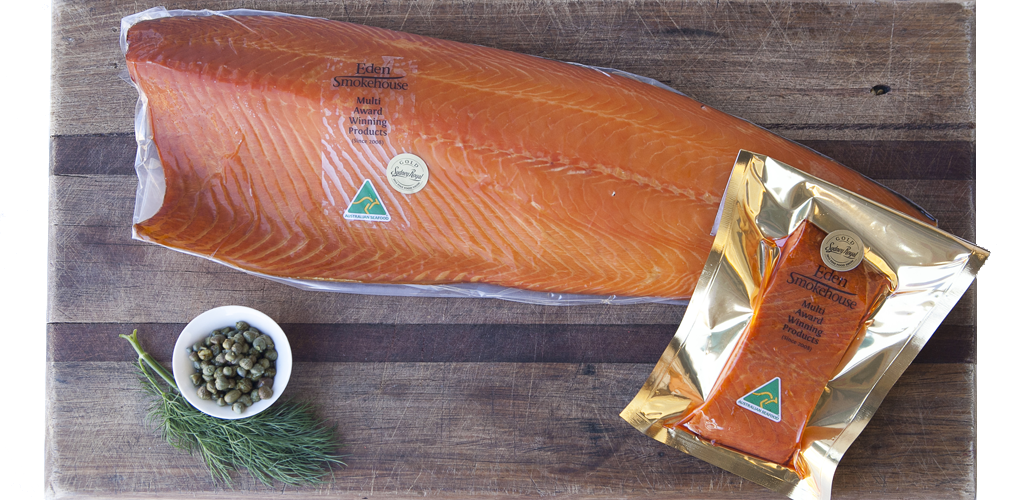 Eden Smokehouse Champion Smoked Atlantic Salmon