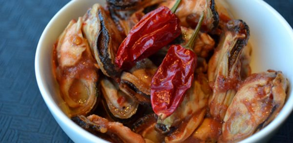 Smoked Mexican Chilli Mussels