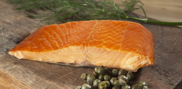 Smoked Atlantic Salmon – Portion